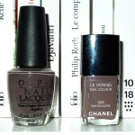 505 Chanel vs You don't know Jacques, OPI