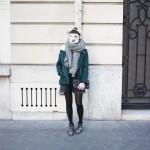 Le petit manteau vert