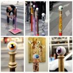 Art de ville #3 – Les drôles de poteaux de CyKlop
