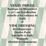 Vide dressing : à demain ?