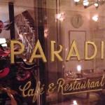 Un dîner au Paradis