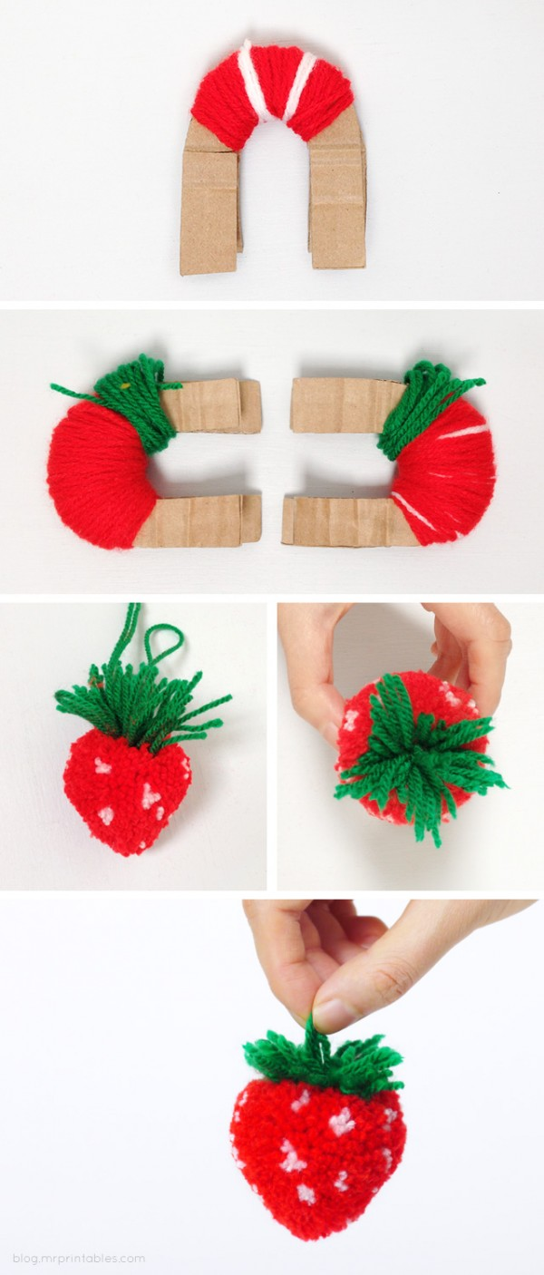 strawberry-pompom-step-by-step