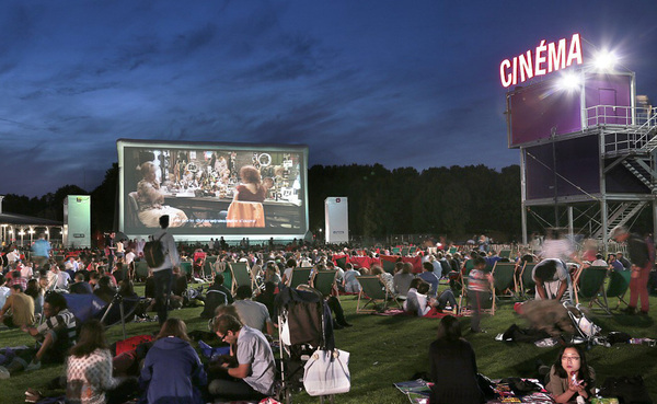 cinema en plein air la villette