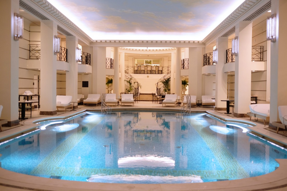A la d couverte du spa chanel au ritz deedee for Spa avec piscine paris