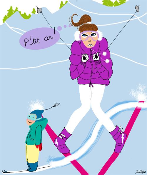 Etoile desneiges deedee - Ski alpin dessin ...