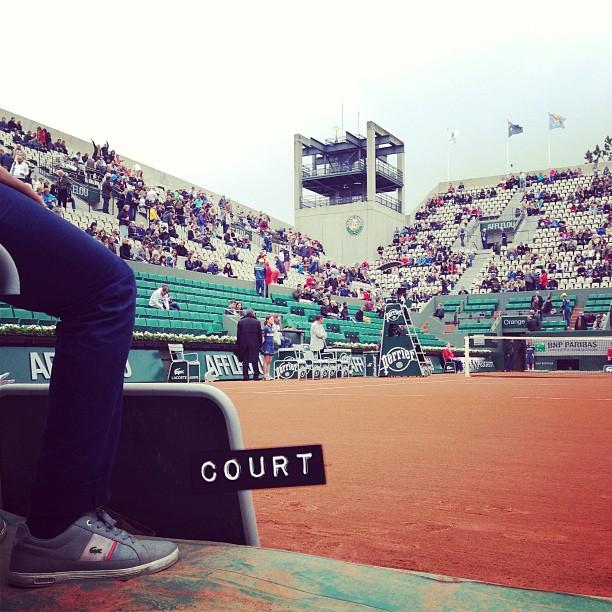 Une journée magique à Roland Garros grâce à #mastercard ♡ #RG13 #PricelessParis #happy