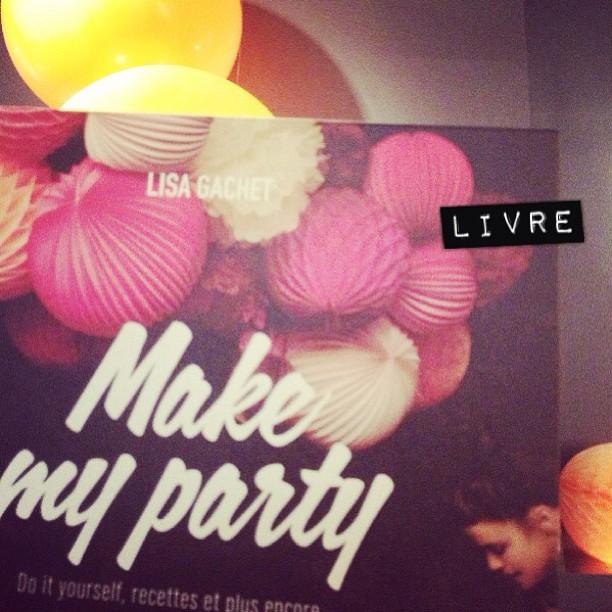 Voilà, le livre de Lisa du blog Make my lemonade sort aujourd'hui. Et il est vraiment chouette ♡ #diy #makemyparty #pal