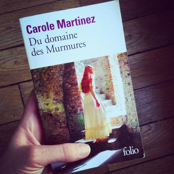 Du domaine des Murmures Carole Martinez