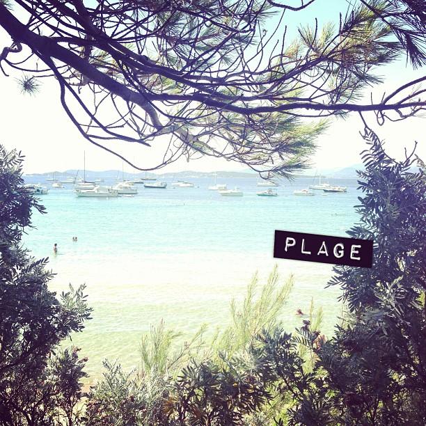 #plage #vacances #porquerolles #bisous