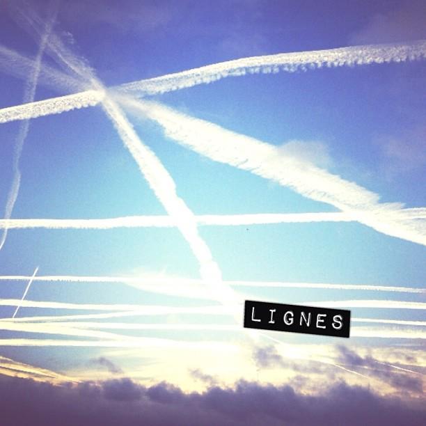 Ce matin, il y a du monde dans le ciel. #cloudporn #ciel #skyporn
