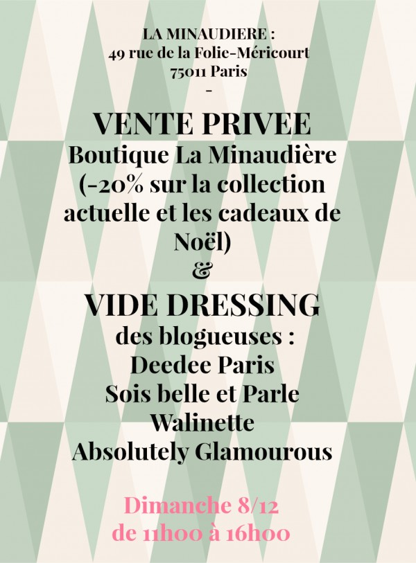 vide dressing blogeuses