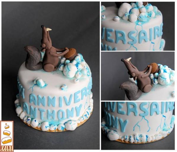 paint cake 2