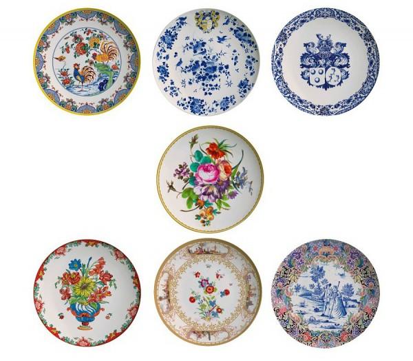 assiette-melamine-inspiration-faience-fleurs-et-oiseaux-bleus