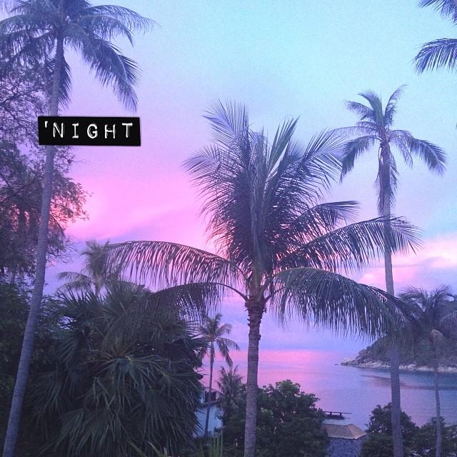 Sans filtre, dans rien. La beauté de ce coucher de soleil ♡ #sunset #thailande #vacances #wow