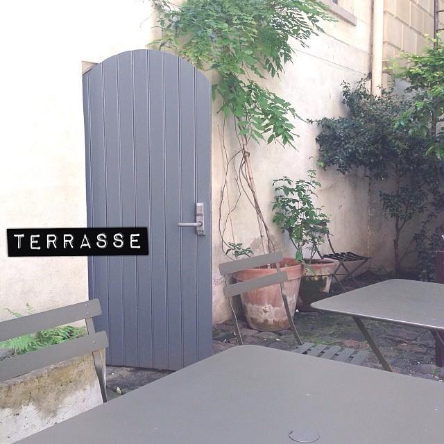 Un petit coin de paradis. #terrasse #bonpoint #cityguideparis #parisjetaime