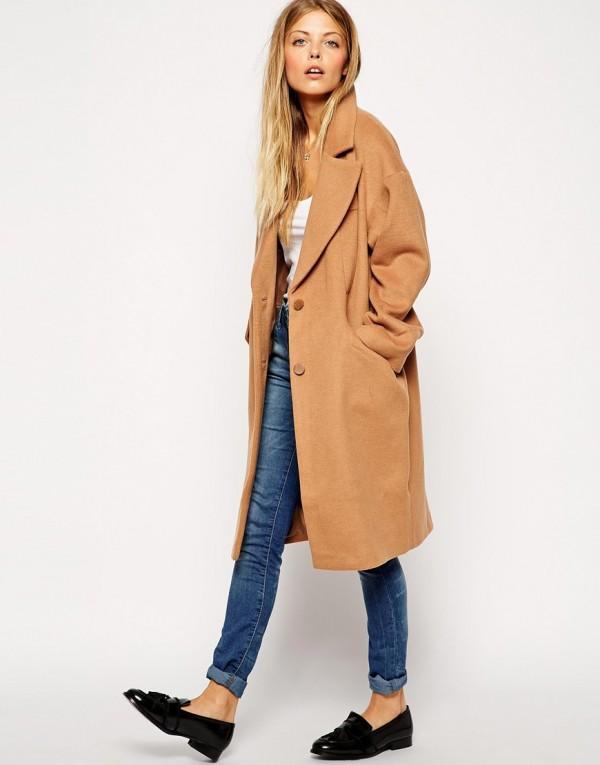manteau camel