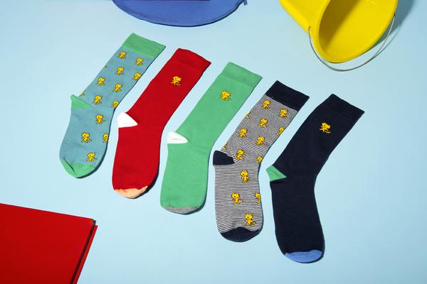 socks nature morte