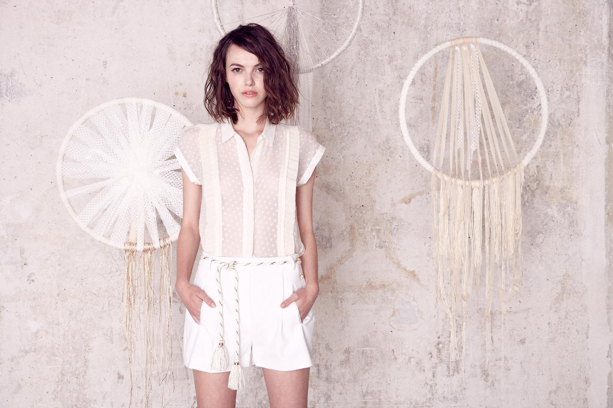 Combinaison Pantalon Mariage. Beautiful Combinaison White Euros ... bc4b15ba8991