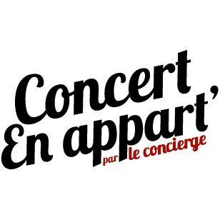 concert appartement
