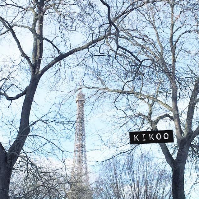 Froid. Mais beau. Mais froid. Mais beau ❄️☀️#bonjour #iciparis #pointmeteo #toureiffel #parisjetaime #cavalescliches
