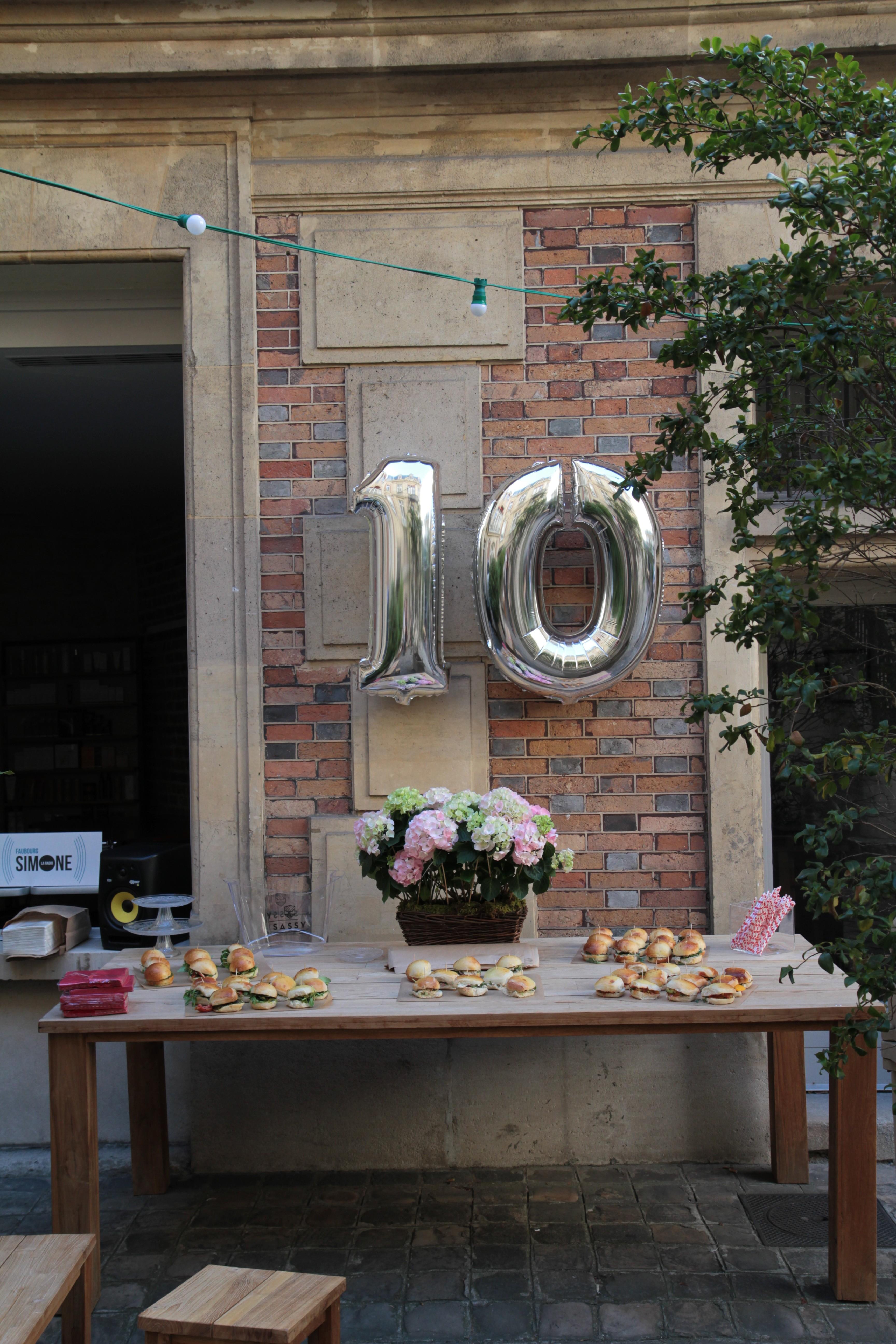 Soirée 10 ans DeedeeParis