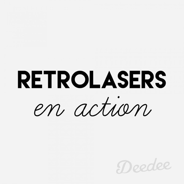 Retrolasers-en-action