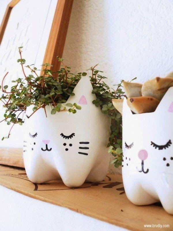 DIY pot de fleurs