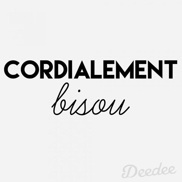 cordialement-bisou