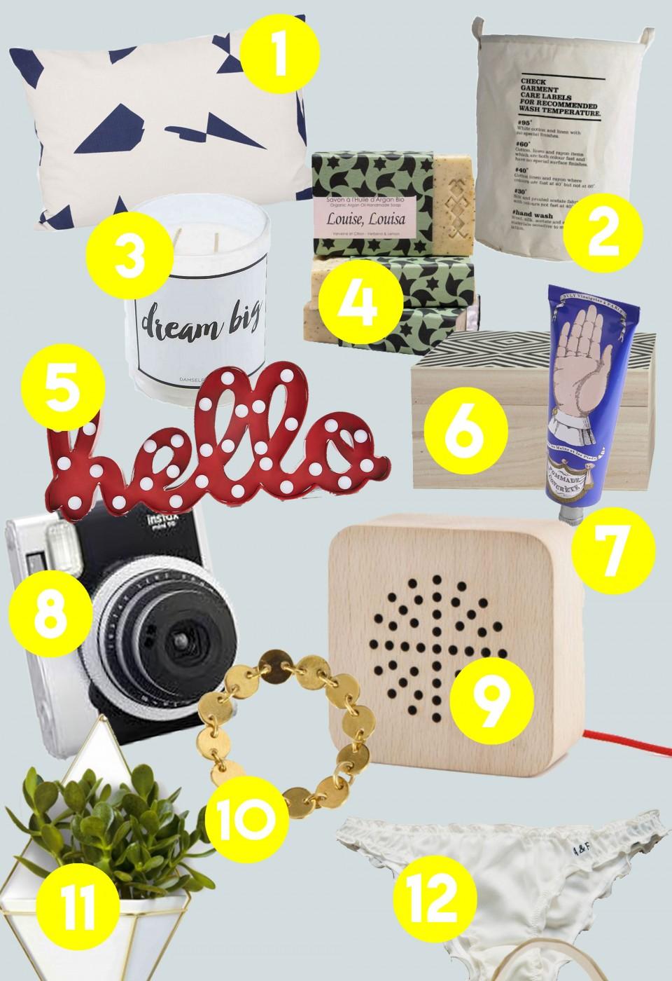 Idee Cadeau A Moins De 5 Euros.30 Idees Cadeaux Pour Elle Deedee