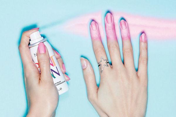 vernis a ongles en spray