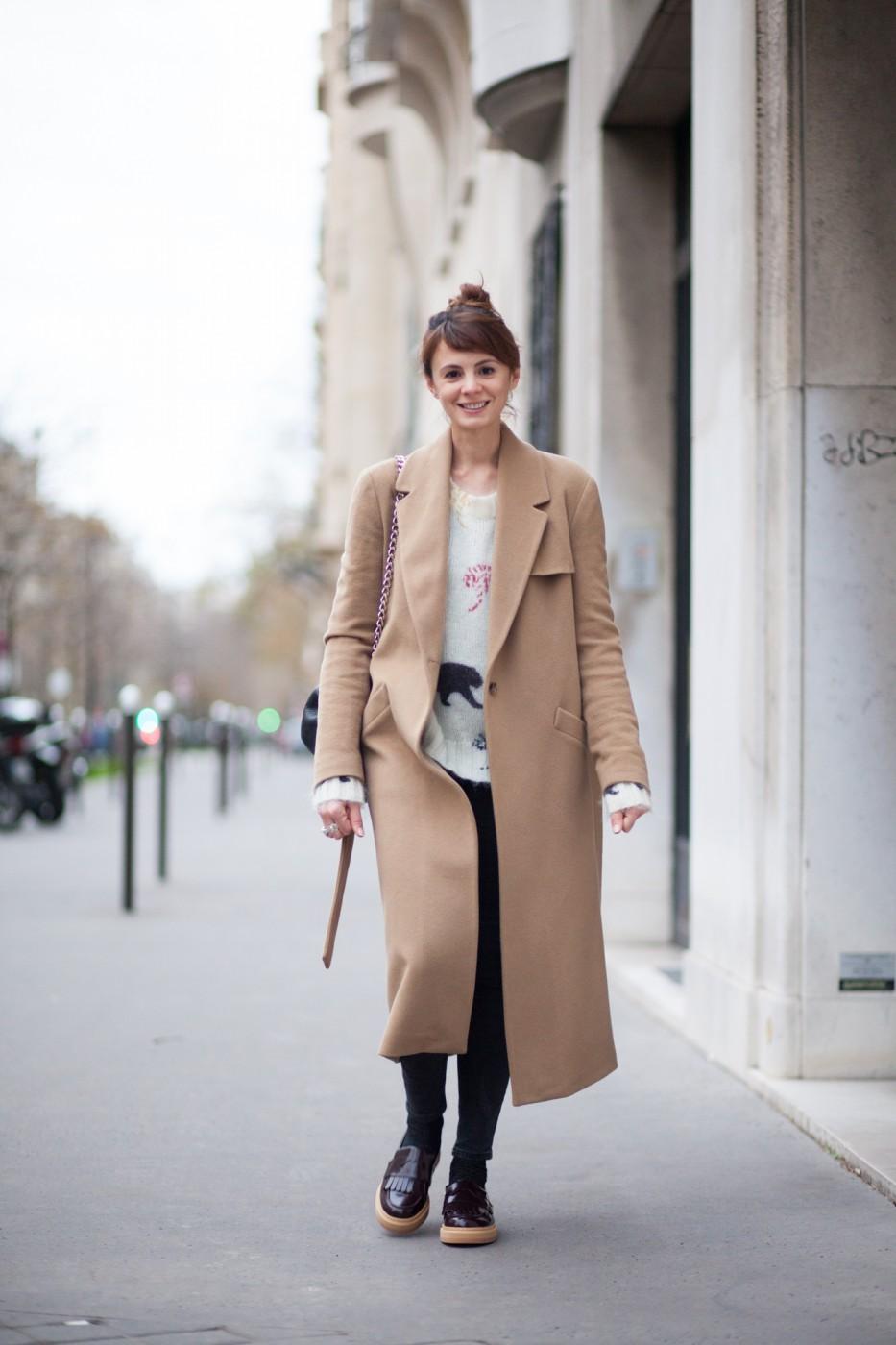 Manteau long femme sarenza