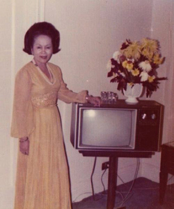 People Standing Next to Their Televisions (16)