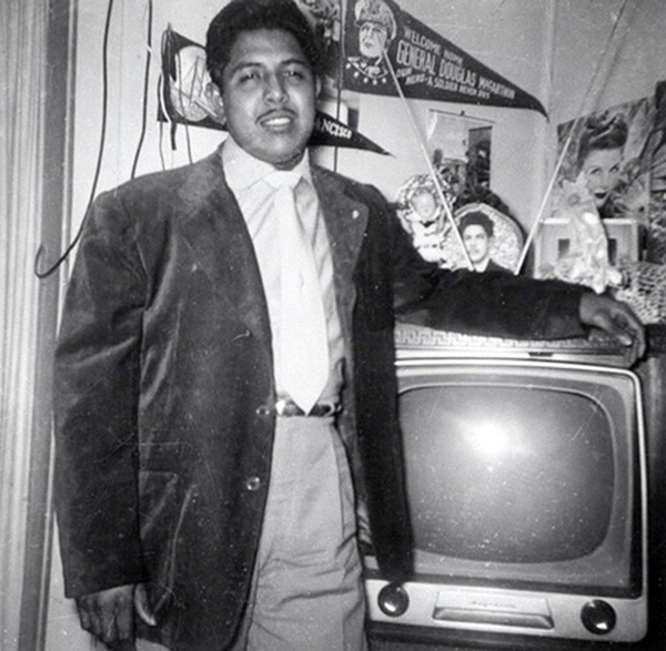 People Standing Next to Their Televisions (22)