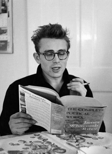 USA. Indiana. Fairmount. 1955. In 1955 James DEAN returned to his roots, the town of Fairmount where he was raised and educated. He visits the farm of his uncle Marcus WINSLOW, and in the dining room reads some poetry by James WHITCOMB RILEY. Contact email: New York : photography@magnumphotos.com Paris : magnum@magnumphotos.fr London : magnum@magnumphotos.co.uk Tokyo : tokyo@magnumphotos.co.jp Contact phones: New York : +1 212 929 6000 Paris: + 33 1 53 42 50 00 London: + 44 20 7490 1771 Tokyo: + 81 3 3219 0771 Image URL: http://www.magnumphotos.com/Archive/C.aspx?VP3=ViewBox_VPage&IID=2K7O3RJCK7MT&CT=Image&IT=ZoomImage01_VForm