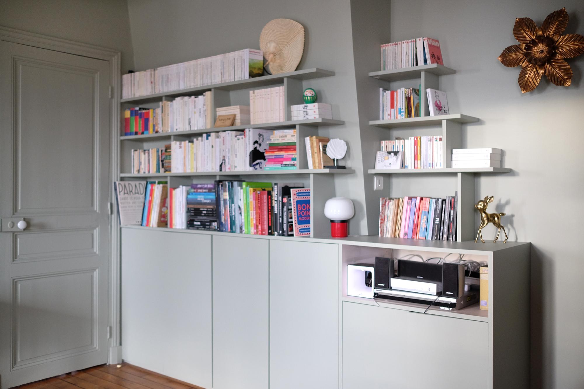 Coût Bibliothèque Sur Mesure une bibliothèque sur mesure : le tuto ! – deedee